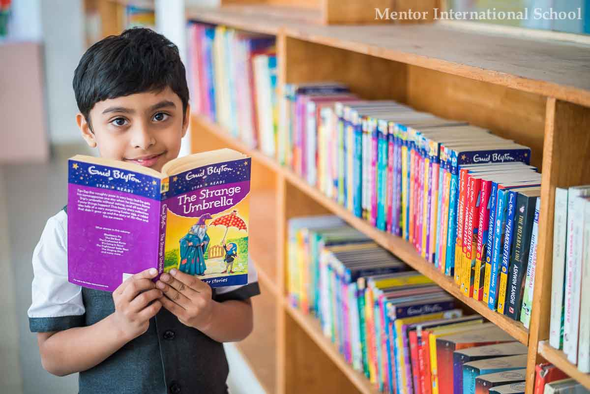 Library @ English medium Schools In Hadapsar