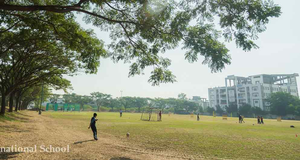 School Ground Of Top CBSE Schools In Pune